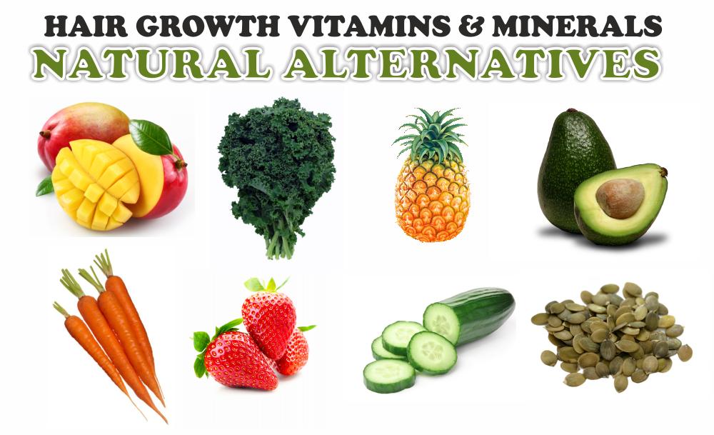Vitamine für das Haarwachstum