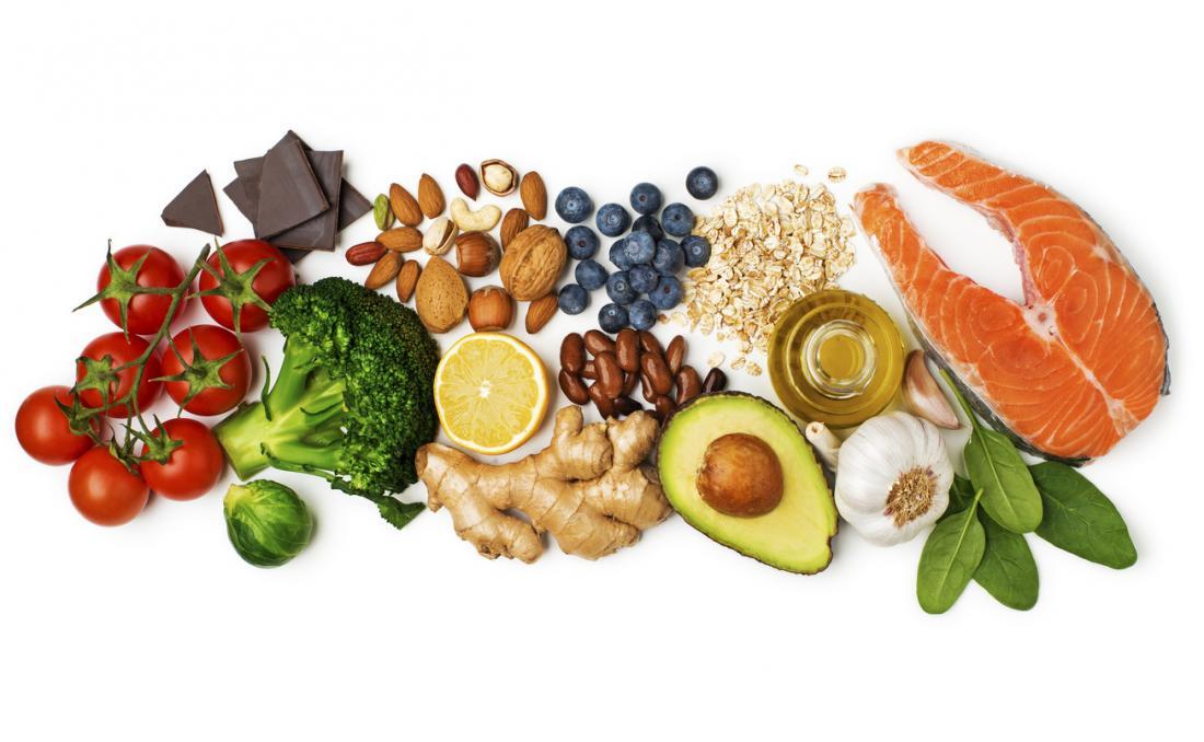 Was sind die besten gesunden Lebensmittel?